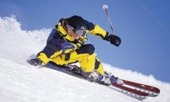 Активный зимний отдых: выбраем горные лыжи для всей семьи