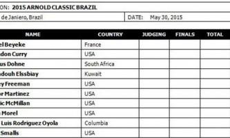 «Арнольд классик бразилия-2015» анонс