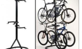 Что лучше напольная подставка или крепление на стену для велосипеда