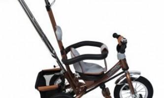 Детский трехколесный велосипед с надувными колесами mini trike