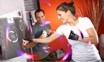 Электронный спаринг-партнер interactiv`boxing