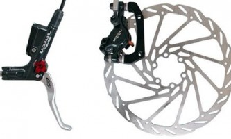 Как установить на велосипед тормоз