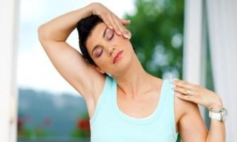 Комплекс упражнений при остеохондрозе шейного отдела позвоночника