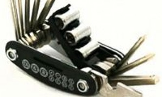Набор инструментов для ремонта велосипеда на каждый день