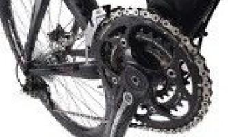 Настройка велосипедной цепи