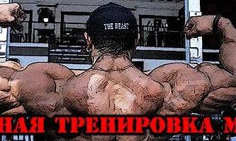 Объемная тренировка мышц