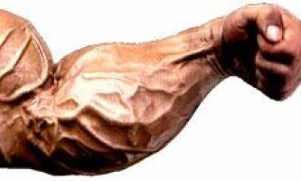 Как накачать руки?