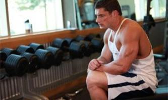 Распределение нагрузки по интенсивности в тяжелой атлетике.
