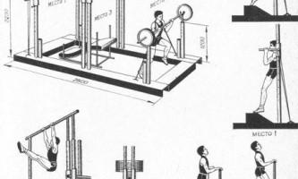 При помощи каких тренажерных устройств, чем и как тренируются прыгуны в высоту?