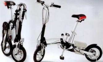 Складной мини-велосипед для прогулок по городу