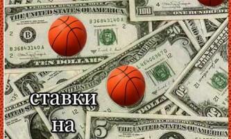 Ставки на баскетбол. Ставки на nba (нба).