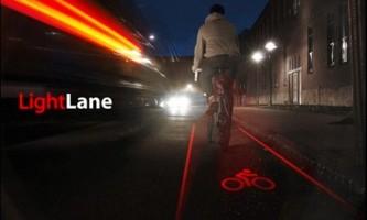 Световая велосипедная дорожка lightlane