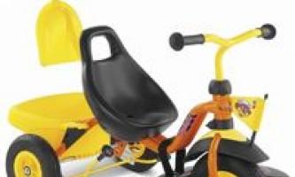 Трехколесный велосипед с резиновыми колесами - наилучший источник удовольствия для вас и вашего ребенка