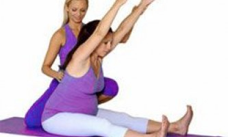 Упражнения для беременных в третьем триместре.