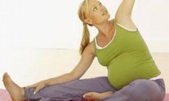 Упражнения для беременных во втором триместре.