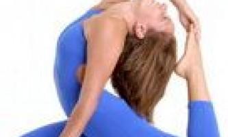 Упражнения для занятий йогой