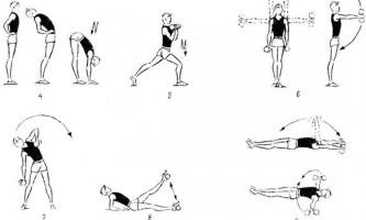Упражнения с гантелями 0,5—1 кг для мальчиков 13—14 лет (7—8-е классы, рис. 6)