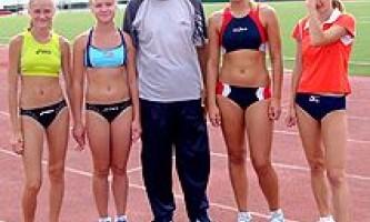 Урок легкой атлетики