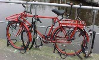 Велосипед — как защитить от угона