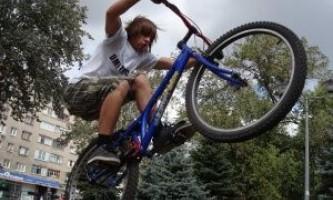 Видео урок №10 - как научиться кататься на велосипеде
