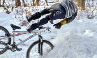 Видео урок №16 - как научится кататься на велосипеде