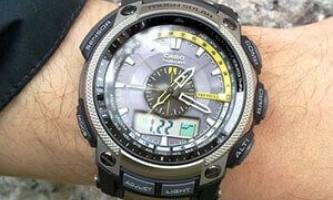 Выбираем часы casio с пульсометром и давлением