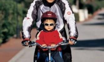 Выбираем велокресло, детское сиденье для велосипеда